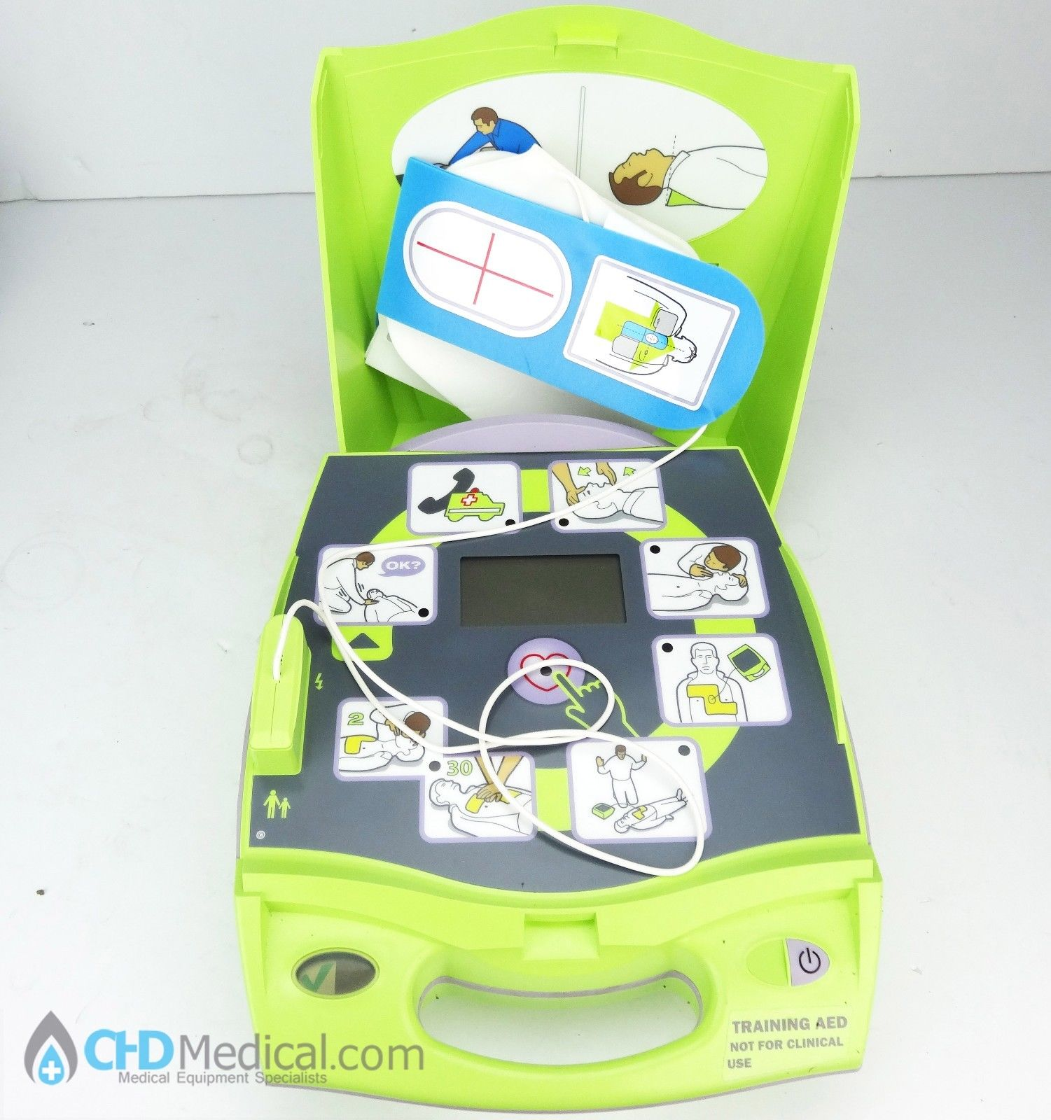 Zoll AED Plus Trainer w/ Pads for Training CPR/Basic Life Support