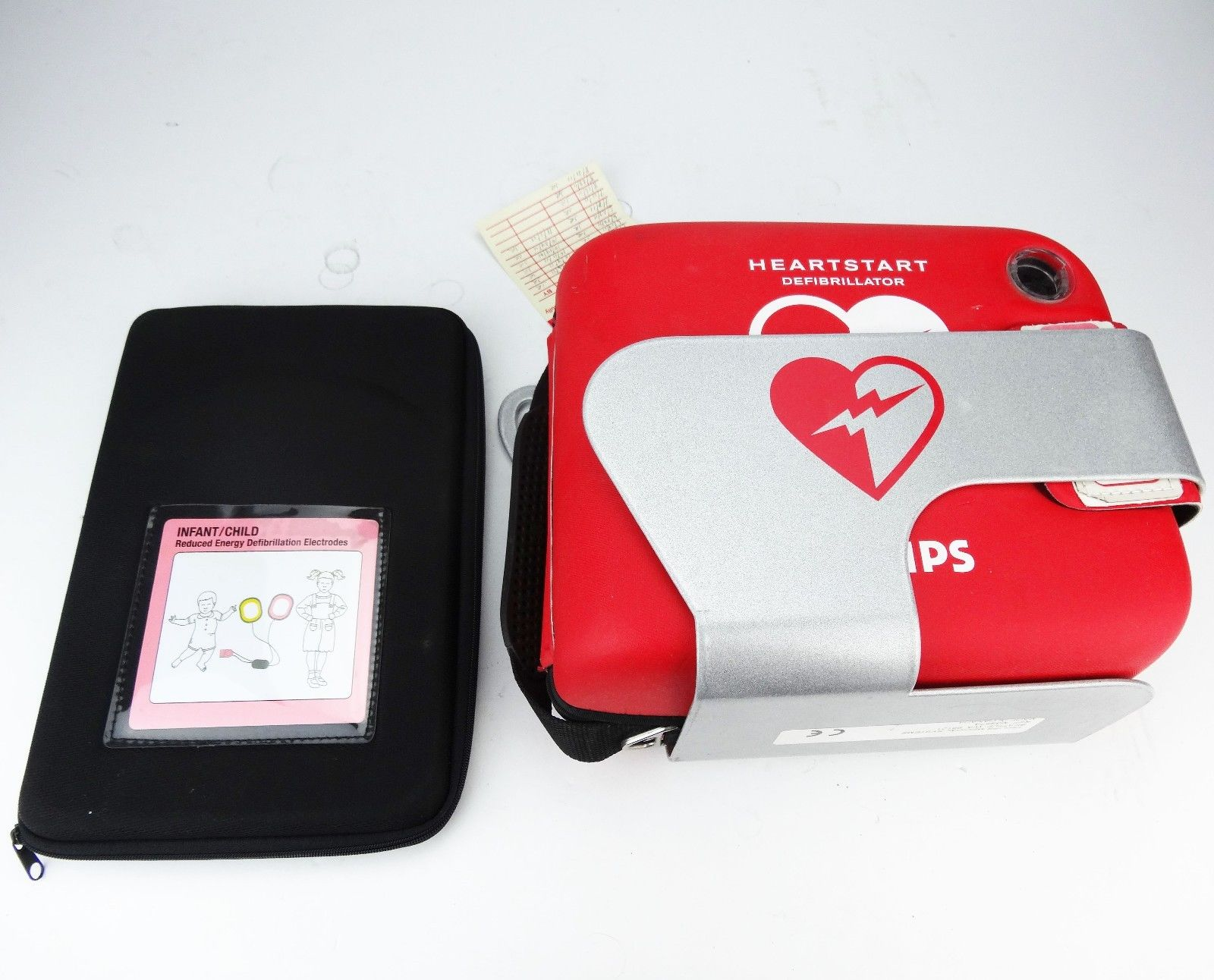 Heartstart FRx AED Philips w/ Carry Case, Battery and Pads *USED*